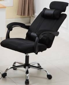 Black Hitam Chair Kerusi office pejabat gaming 2