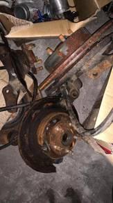 Subaru GC8 impreza wheel hub bearing