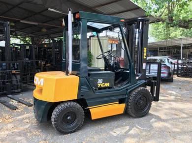 JAPAN Direct Imported TCM 3 ton DIESEL FORKLIFT