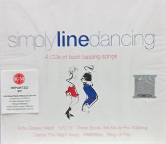 Simply Line Dancing 4CD (Imported)