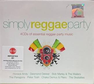 Simply Reggae Party 4CD (Imported)