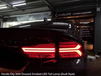 HONDA CITY 2014-2020 Audi Style Smoked Tail Lamp