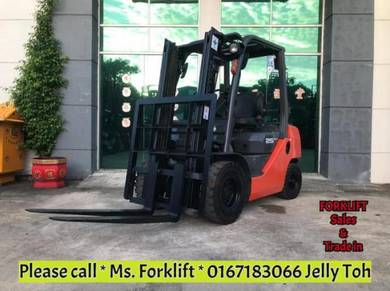 Toyota 2.5 ton forklift recond - FULL LOAN