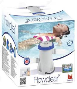Water filter pump flowclear for Giant pool