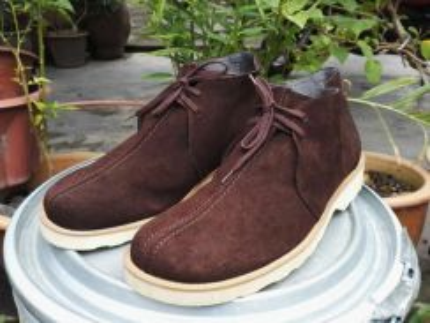 Real LEATHER japan shoes unworn kueii