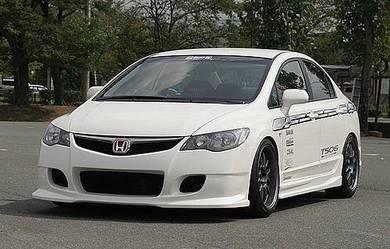 Honda Civic FD Ing Ing's bumper Bodykit Body Kit