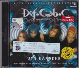 VCD KARAOKE DEF GAB C Merah