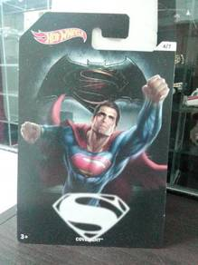 HotWheels Superman covelight card