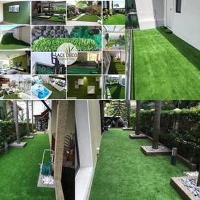 Pemborong Artificial Grass Rumput Tiruan C-Shape
