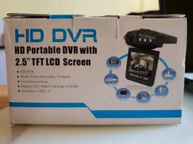 Portable DVR recorder 2.5