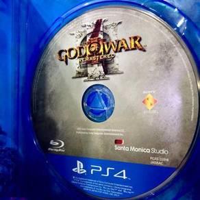 PS4 God Of War 3 Remastered aka GOW RAll
