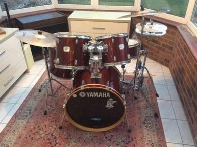 Yamaha YD series drum kit and extras