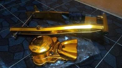 Arm kulit enjin aloy 125zr