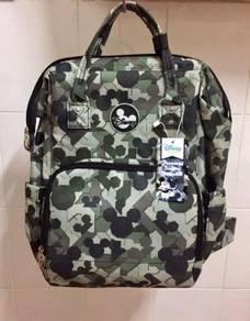 Coby Haus Disney Premium Diaper Backpack (ARMY)