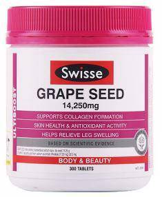 Swisse Grape Seed 14250mg 300 tablets