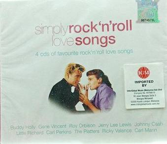 Simply Rock N Roll Love Songs 4CD (Imported)