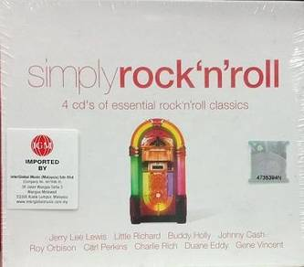 Simply Rock N Roll 4CD (Imported)