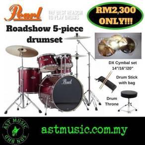 Drum set Pearl Roadshow package