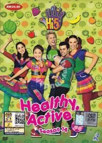 DVD Hi-5 Healthy Active Australia Series Season 14