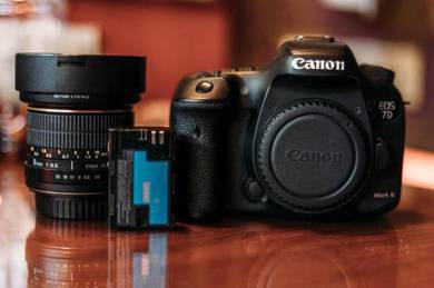Canon 7D MKII+Fisheye
