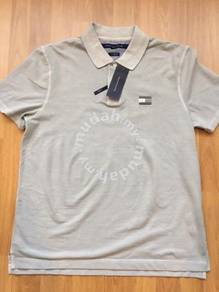 Tommy Hilfiger grey polo size M Brand NEW w tag