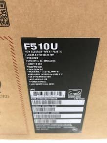 ASUS-Vivo-F510U, i5 8th Generation, 8GB, 1TB, NEW