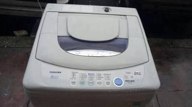 Toshiba 7Kg Washing machine mesin basuh