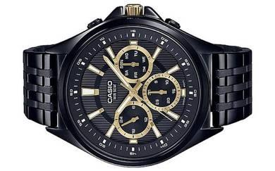 Casio Men Multi Hands Watch MTP-E303B-1AVDF