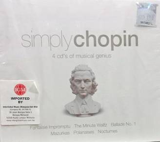 Simply Chopin 4CD (Imported)