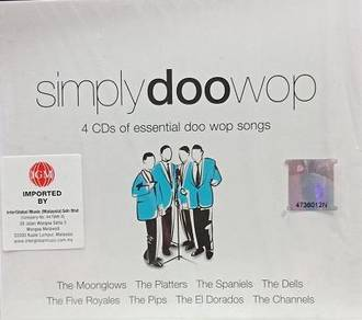 Simply Doo Wop 4CD (Imported)