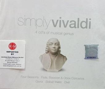 Simply Vivaldi 4CD (Imported)