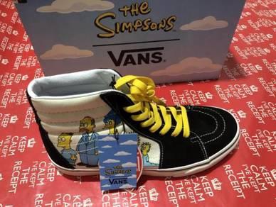 Vans sk8 hi x The Simpsons