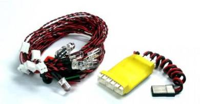 G.T.POWER 8 LED System for Helicopter & Airplane L