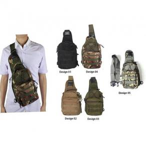 Beg Silang /Army Camo Sling Bag 09
