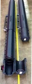 V7 Bzuka Fishing Tackle Rod Tube Box Case Barrel