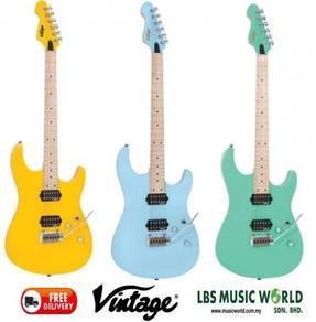 Vintage v6m24 reissued electric guitar