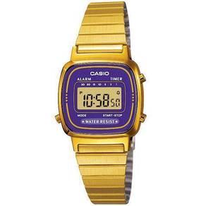 Watch - Casio Classic LA670WGA PURPLE - ORIGINAL
