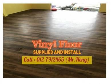 Wood Look PVC 3MM Vinyl Floor 81GH