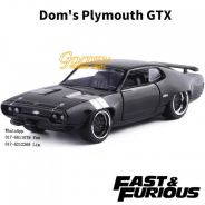 Jada 98300 Fast & Furious Plymouth GTX Metals