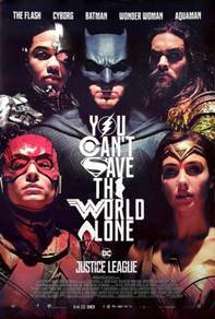 Poster Justice League 2017Superman Batman Wonder W