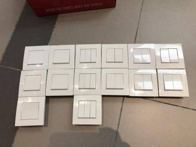 Schneider Vivace Light Switches - used