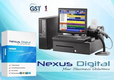 Computer pos system mesin cashier basic ver1.39562