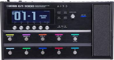 BOSS GT-1000 - Guitar Effects Processor (FREE Bag,