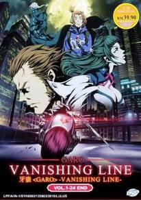 DVD ANIME Garo Vanishig Line Vol.1-24 End Eng Dub