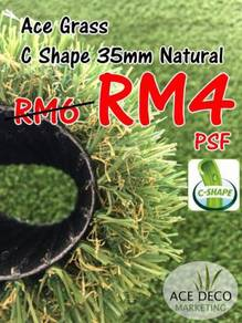 Artificial Grass / Rumput Tiruan C35mm Natural 14