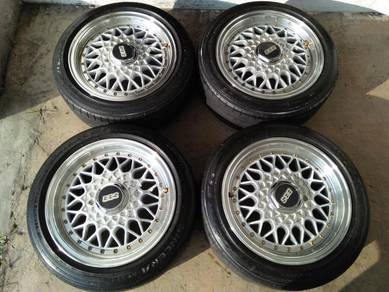 Rim kcar bbs rs 14 inchi