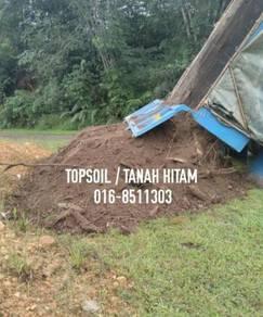 Tanah hitam black topsoil for planting gardening
