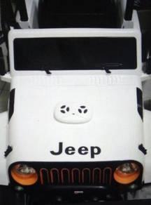 High powerful 4 wheel jeep