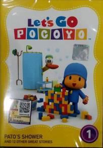 DVD Let's Go Pocoyo Pato's Shower Vol.1