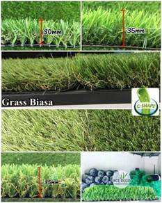 Premium Artificial Grass Rumput Tiruan C-Shape 17